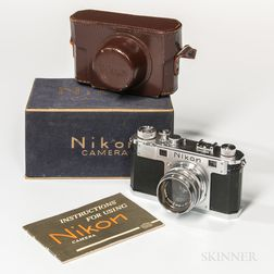 Nikon S Rangefinder Camera