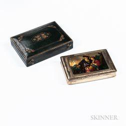 Austrian Silver Cigarette Case