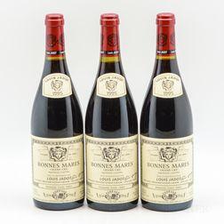 Louis Jadot Bonnes Mares 1995, 3 bottles