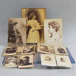 Theater: Cabinet Cards of Actors, 19th Century.