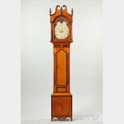 Pennsylvania Tiger Maple Tall Clock
