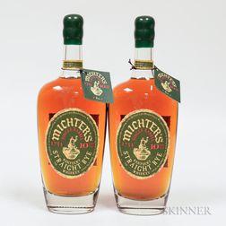 Michters Single Barrel Rye 10 Years Old, 2 750ml bottles