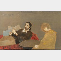 Cornelis Ruhtenberg (American, 1923-2008)      Couple (Cornelis and Jules)