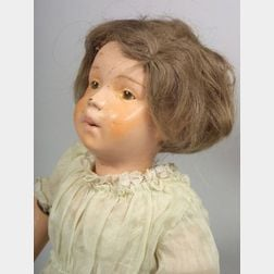 Schoenhut Character Girl Doll