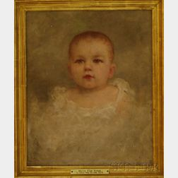 Susan Hely St. John (American, 1834-1913)      Portrait of Marion Eliza Nichols