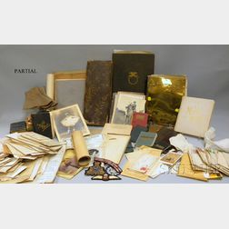 Lot of Mostly Patchen and Halstead Family of Brooklyn, New York, Related Ephemera   and Correspondence