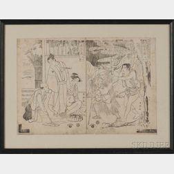 Katsukawa Shunei (1762-1819), Acts 5-6