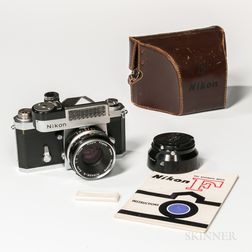 Early Nikon F SLR Camera