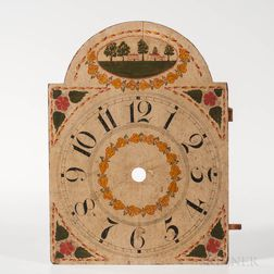 Paint-decorated Clock Dial