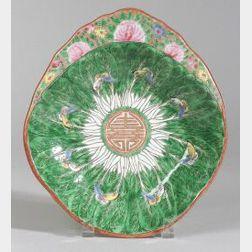 Chinese Export Porcelain Shrimp Dish