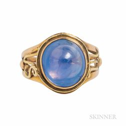 Crosby 14kt Gold and Sapphire Ring