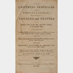 Barclay, Patrick (fl. circa 1735) The Universal Traveller