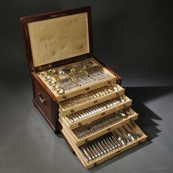 Assembled Austro-Hungarian .800 Silver Flatware Service