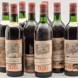 Chateau Lafite Rothschild 1966, 12 bottles