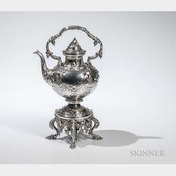 William Gale & Son Coin Silver Kettle-on-Stand