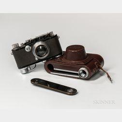 Uncommon Black/Chrome Leica III Camera