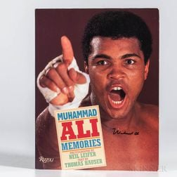 Muhammad Ali (1942-2016) Memories  , Signed Copy.