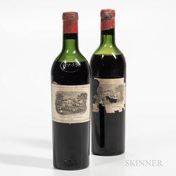 Chateau Lafite Rothschild 1945, 2 bottles