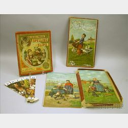 Two Lithographed Parlor Games