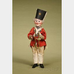 German Character Bandsman Squeak Toy