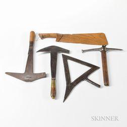 Five Roofer's Tools