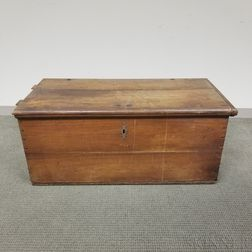 Early Walnut Six-board Box