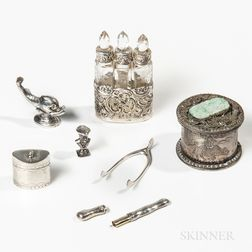 Group of Silver and Silver-plate