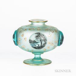Daum Nancy Cabochon Vase