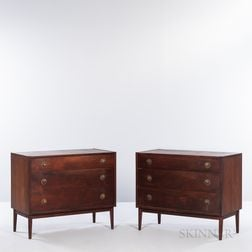 Pair of Danish Modern Chests
