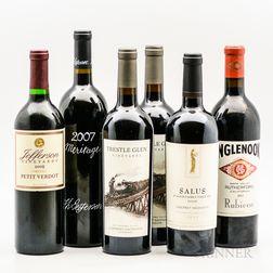Mixed US Reds, 6 bottles