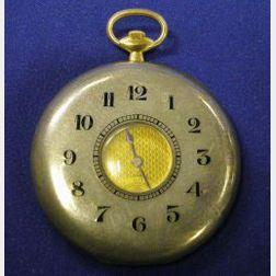 18kt Gold Openface Pocket Watch, Tiffany & Co.