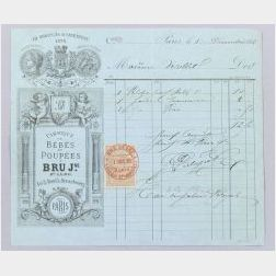 Bru Jne & Cie Bill of Sale