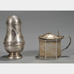 Two Victorian Silver Tableware Items