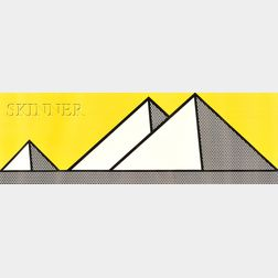 Roy Lichtenstein (American, 1923-1997)      Pyramids
