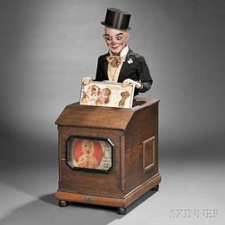 "Magician Automaton ""Magnet"" Advertising Machine"