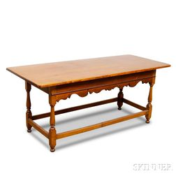 William and Mary-style Maple and Pine Tavern Table