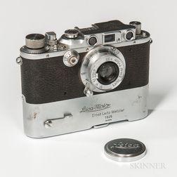 "Leica III Model B Camera and ""Mooly Motor,"""