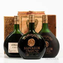 Mixed Dupeyron, 1 liter bottle 1 70 cl bottle 1 bottle