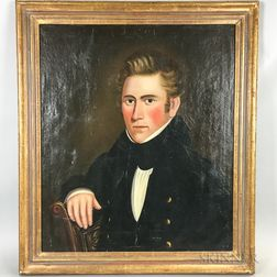 Anglo/American School, Early 19th Century      Portrait of a Young Man