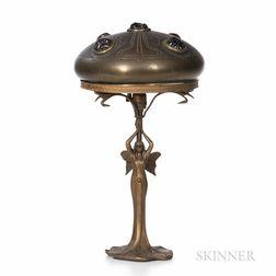 Art Nouveau Boudoir Lamp