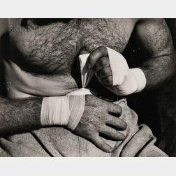 Willard Van Dyke (American, 1906-1986)      Boxer's Hands