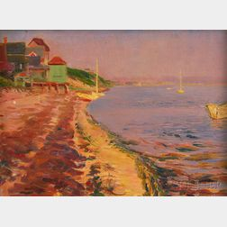 Laura Miller (American, 19th/20th Century)      Cape Ann Shore.