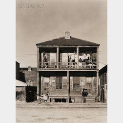 Walker Evans (American, 1903-1975)      Negro House, New Orleans, Louisiana