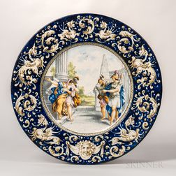 Maiolica Earthenware Charger