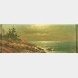 Charles Henry Gifford (American, 1839-1904)  Coastal View