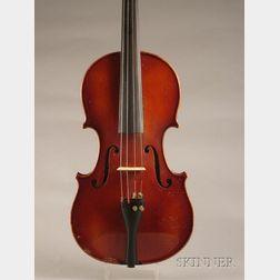 German Violin, c. 1950, for William Lewis & Son