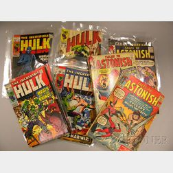 Thirty-three Silver Age Tales To Astonish   and Thirty-two The Incredible   Hulk