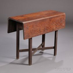 Small Cherry Drop-leaf Table