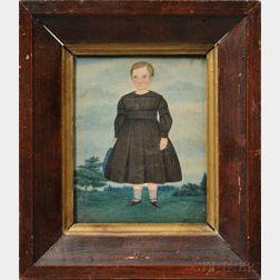 Miniature Portrait of a Boy