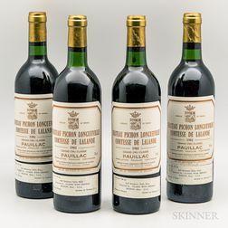 Chateau Pichon Longueville Lalande 1981, 4 bottles